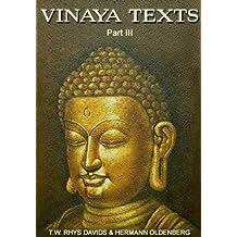 Vinaya Texts (Part III) (English Edition)