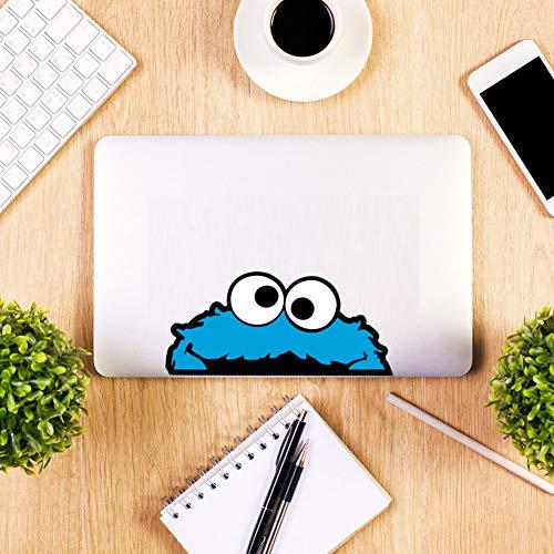 Wandaufkleber Peeping Cookie Monster Volle Farbe Vinyl Wandaufkleber Bunte Kunst Auto Autoaufkleber Oder Laptop Aufkleber Selbstklebende Tapete
