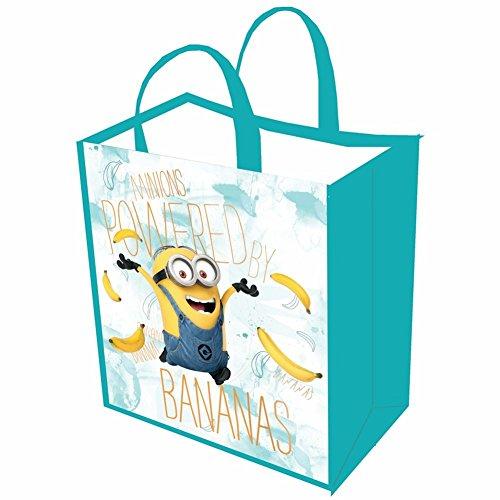 Damen Minions wiederverwendbar Einkaufstasche oder Halloween Trick or Treat Tasche-Banana