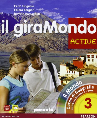 Giramondo active. Con Atlante. Per la Scuola media. Con CD-ROM. Con espansione online: 3