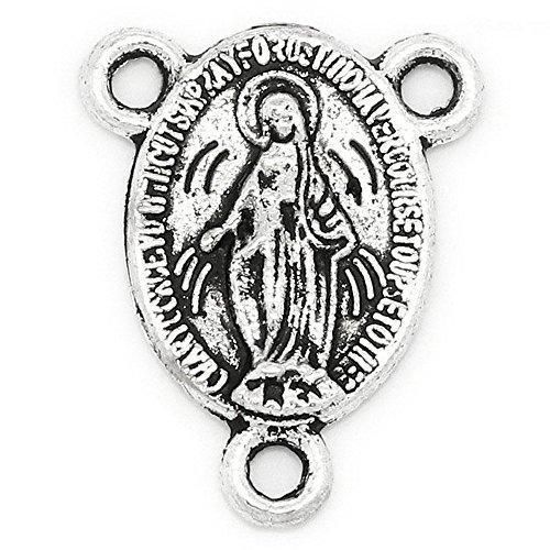 der 18x14mm oval mit Maria für Rosenkranz (Machen Sie Ihren Eigenen Rosenkranz)