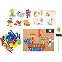 Small Foot 10226 Pirate Hammer Game