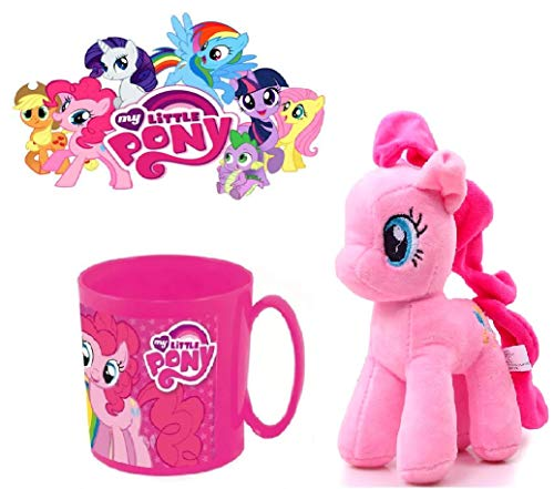 Pinkie Pie my little pony peluche + taza my little pony