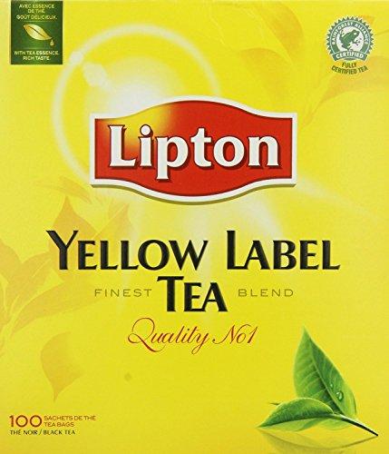 Lipton Yellow label 100 Teabags 1 Box