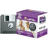 Disco Xlyne 1,44 MB Floppy Disc 10-pack