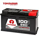 Tokohama Autobatterie 12V 100AH 880A/EN ersetzt 88Ah 90Ah 92Ah 95Ah