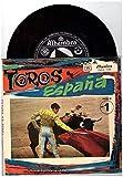 "Gran Orquesta De Baile – Toros En Spana Le Cruz De Mayo / La Giralda / Espana Cani / Vito 7"" Vinyl Single in Klapphülle, 8 Seiten Farbe, geheftet, Booklet. 7 Zoll bedruckter Einsatz."