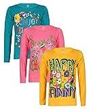 #9: Sinimini printed full sleeve girls tshirt (pack of 3)