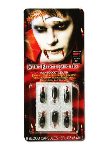 Vampiro sangue finto liquido capsule pk6