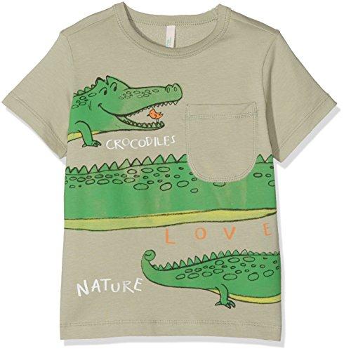 united-colors-of-benetton-t-shirt-bambino-verde-khaki-4-5-anni-taglia-produttore-x-small