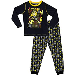 Transformers Boys Bumblebee Pyjamas Ages 4 to 5 Years