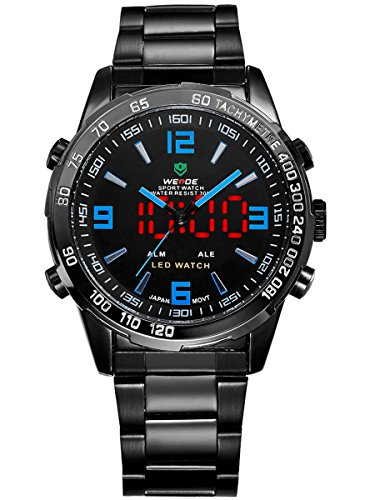 alienwork-dualtime-led-analogue-digital-watch-multi-function-wristwatch-stainless-steel-black-black-