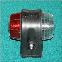 gálibo 67x 78mm Rojo/Blanco Posición lámpara luz de seguridad