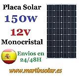 Placa Solar 150w 12v Monocristal