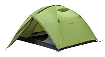 Vaude Waterproof C&o Unisex Outdoor Dome Tent available in Green - 3 Persons  sc 1 st  Amazon UK & Vaude Waterproof Campo Unisex Outdoor Dome Tent available in Green ...
