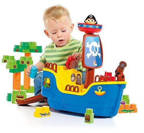 MOLTO Blocks - Barco Pirata (30 Piezas)