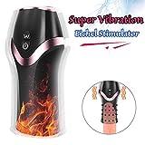 Eichel Stimulator Vibratoren, MEROURII Penis Massagergerät mit 12 Modi Elektrische Masturbieren...