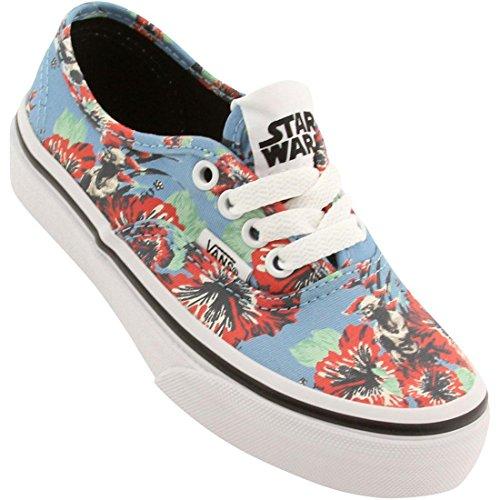 Vans Junior Star Wars Bleu Authentic Yoda Aloha chaussure de basket Bleu