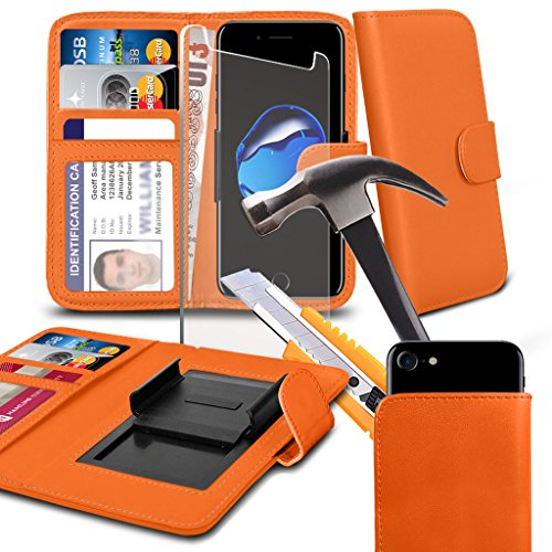 phone-accessories-pack-wallet-tempered-glass-orange-55-inchcase-for-fusion5-gen-ii-case-cover-pouch-