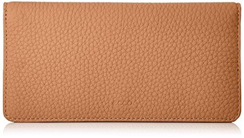 Ecco Damen Jilin Large Wallet Geldbörse, Braun (Cashmere), 1.5x9x18.5 cm