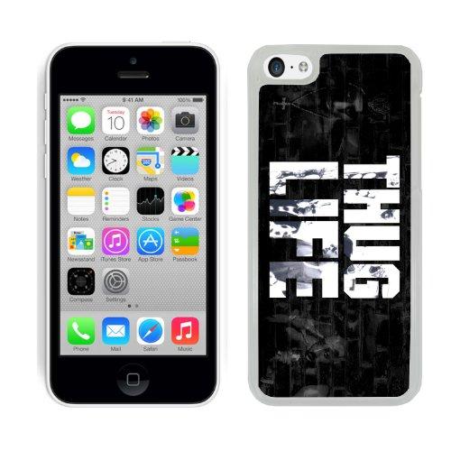 2Pac Tupac Shakur carcasa rígida para iphone 5C–carcasa rígida (2) para Apple i teléfono 5C