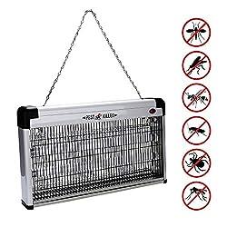 VORCOOL elektrischen M/ückenvernichter Lampe Innenraum LED Licht t/ötet M/ücken Wind-Fliegen Insektenvernichter USB schwarz