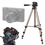 DURAGADGET Trépied ajustable solide pour Sony DSC-W810 et Cybershot RX100 V / DSC-RX100M5 appareil photo compact - qualité professionnelle