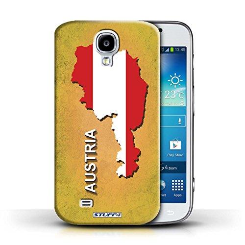 Kobalt® Imprimé Etui / Coque pour Samsung Galaxy S4/SIV / Amérique/Américain/USA conception / Série Drapeau Pays Autriche