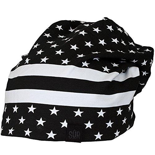 SUR Street Jersey Reversible Beanie Stars & Stripes (Stripe Schal Reversible)