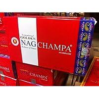 Vijayshree Golden Nagchampa 'Agarbathi'Räucherstäbchen, 15 g, 12 Stück preisvergleich bei billige-tabletten.eu