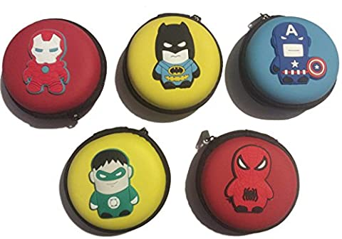 Superhero Coin Purse with Earphone storage - Green Lantern