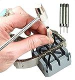 Kit de réparation de bracelet de montre Support pour marteau et chasse-goupilles