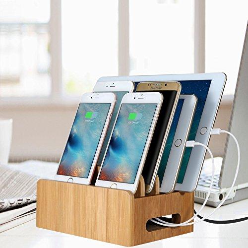 Handy-zubehör Sporting Stod Smart Usb Ladegerät Led-anzeige Qi Wireless Charging Power Streifen 2 Ac Outlet 2000 W Für Iphone Ipad Samsung Huawei Lg Adapter Um Jeden Preis