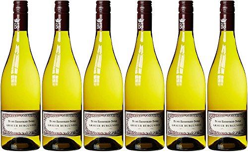 Bassermann-Jordan Grauer Burgunder Pinot Grigio 2015/2016 trocken (6 x 0.75 l)
