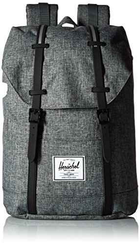 Herschel Supply Company SS16 Casual Daypack, Zaino, Multicolore (Raven Crosshatch/Black), Taglia 19.5 Litri
