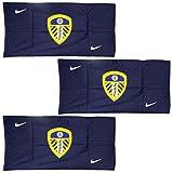 Offizielles Nike Leeds United klassischen drei Pack Sport Handtuch für Kinder 100% Baumwolle–100x 50cm