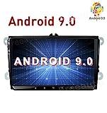 Freeauto Android 9.0 Autoradio 2DIN Navigatore GPS per VWGolf Passat Polo Jeeta Tiguan Scirocco Posto Skoda Car Radio Car Multimedia con 1080P Touch Screen