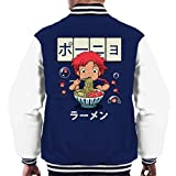 Cloud City 7 Ponyo Goldfish Ramen Men's Varsity Jacket