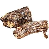 DOGREFORM Straußenhälse das Dörrfleisch ist knackig knusprig und super-fleischig ohne jedliche Chemie oder Konservierungstoffe für allergiebelastete Hunde