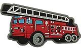 crocs Fire Truck Charm SS17 Schuhanhänger, Mehrfarbig (-), Einheitsgröße