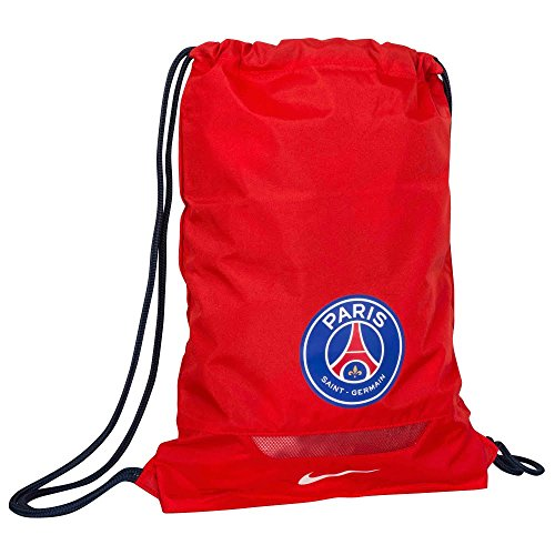 Imagen de nike allegiance paris saint germain gymsack , hombre, rojo challenge red / midnight navy / blanco , talla única alternativa