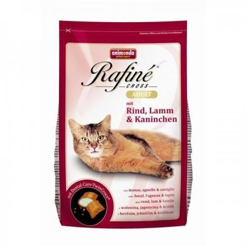 Animonda Rafine Cross Adult Rind, Lamm & Kaninchen 15 kg, Trockenfutter, Katzenfutter
