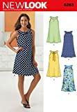 New Look Schnittmuster 6263 Misses A-Line Kleid