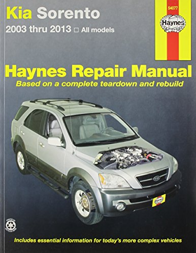 kia-sorento-automotive-repair-manual-haynes-automotive-repair-manuals
