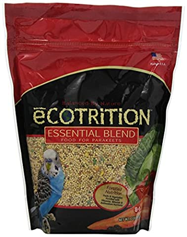 8 in 1 Ecotrition Essential Blend for Parakeets, 2 lbs.