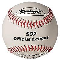 Markwort 8 1/2-Inch Junior Youth League Leather Baseball (Dozen)