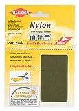 Kleiber Selbstklebende, wasserdichte Ausbesserungsflicken aus Nylon, olivgrün