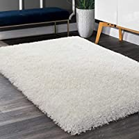 LOCHAS High Pile Soft Living Room Rug, Super Plush Fluffy Shaggy Extra Large Bed Room Rugs with 80mm Thickness, Modern Home Decor Area Rugs