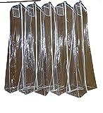 O.D.W Schutzhülle Kleidersack für Brautkleider/Abendkleider 180 cm Lagerung Kleider Staubdicht (Transparent, 1 PC)