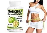GARCINIA CAMBOGIA EXTRAFORTE 1200mg per compressa 100% PURE (600mg HCA per cpr) 100% NATURALE (60 CPR) Bruciagrassi /Fame Nervosa /Ottimo alleato delle Diete!!! Prodotto ITALIANO